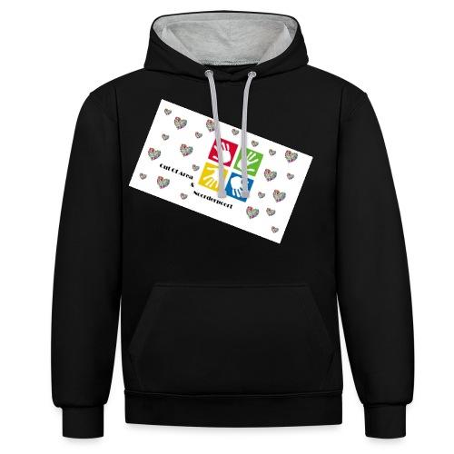 Bestsellers Out Of Area - Contrast hoodie