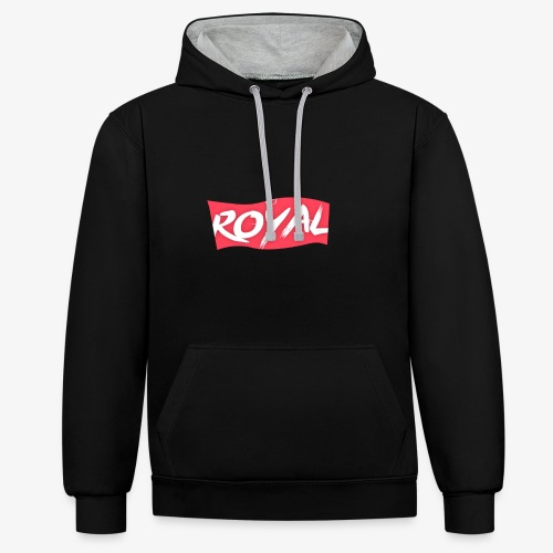 Royal Box - Sweat-shirt contraste