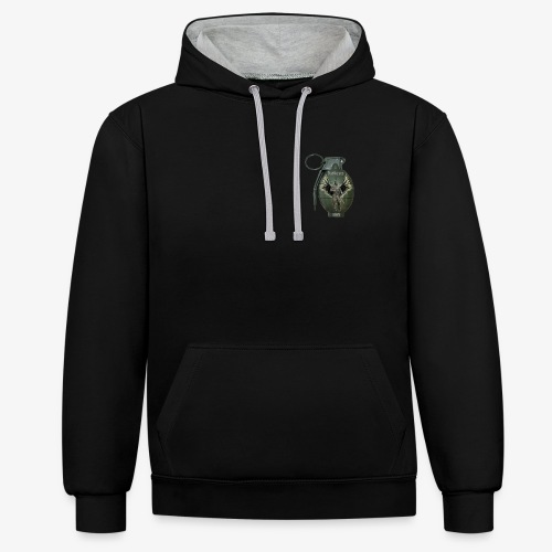 OutKasts Grenade - Contrast Colour Hoodie