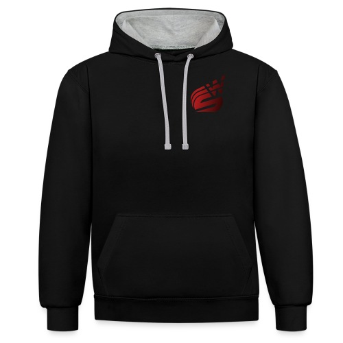 image1 - Contrast Colour Hoodie