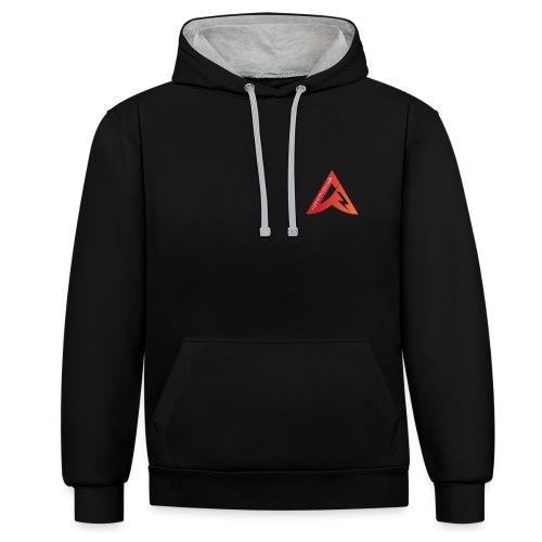 logo alpenpower - Kontrast-Hoodie