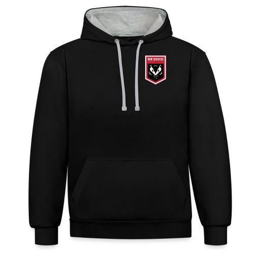 BB_LOGO_FINAL - Contrast Colour Hoodie