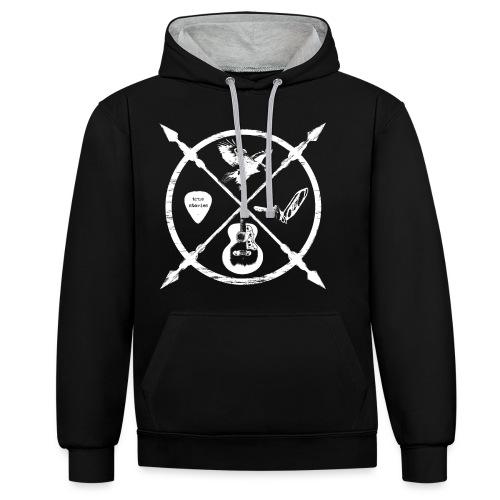Jack McBannon - Cross Symbols - Kontrast-Hoodie