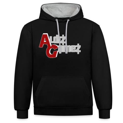 AldizGamez - Contrast hoodie