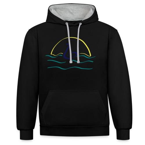 Swan - Contrast hoodie