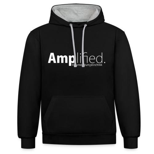 Amplified_mitVA 2 - Kontrast-Hoodie