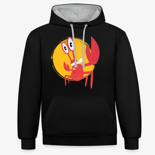 lobster - Sweat-shirt contraste