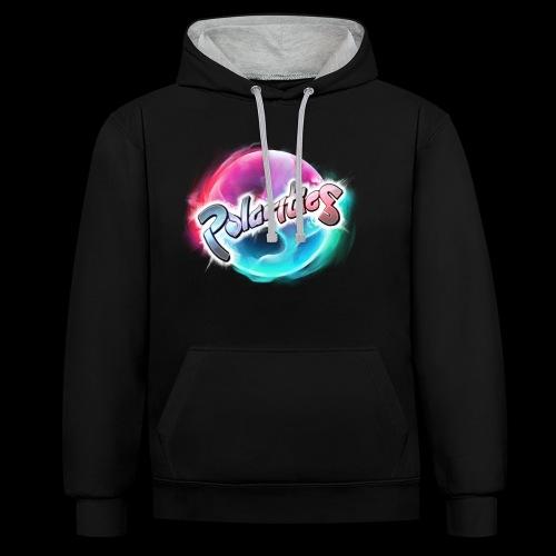 Polarities Logo - Contrast Colour Hoodie