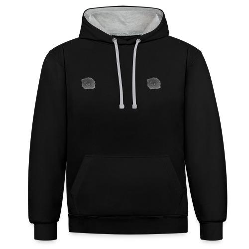 NIPPLES Merchandise - Contrast Colour Hoodie