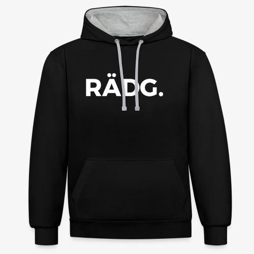 design raedg - Kontrast-Hoodie
