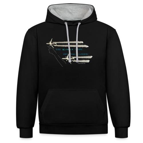 Skywatcher 02 - Contrast hoodie