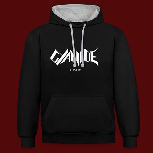 Logo Cyanide Inc - Sweat-shirt contraste