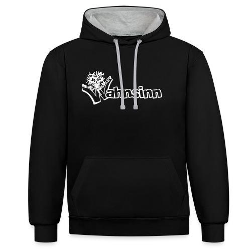 Wahnsinn Logo - Contrast hoodie
