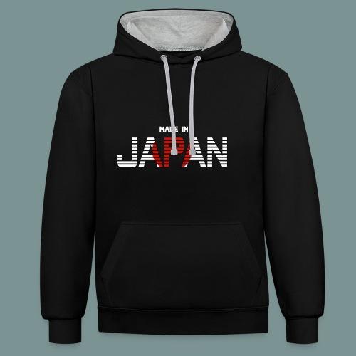 Made in Japan - Contrast hoodie