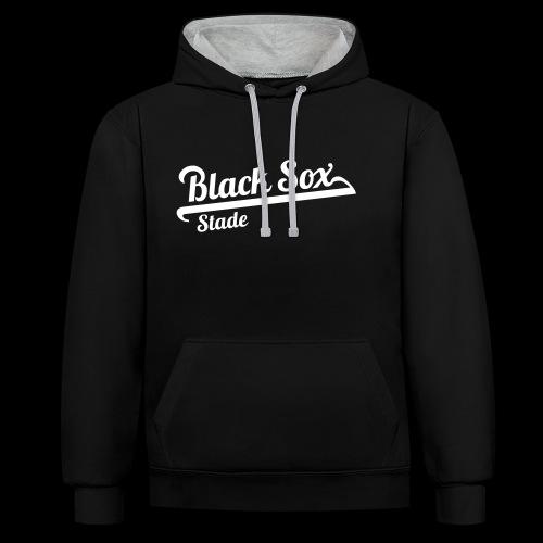 Black Sox_Original - Kontrast-Hoodie