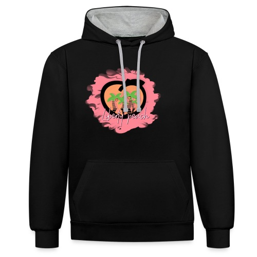 Liberty Peach City - Sweat-shirt contraste