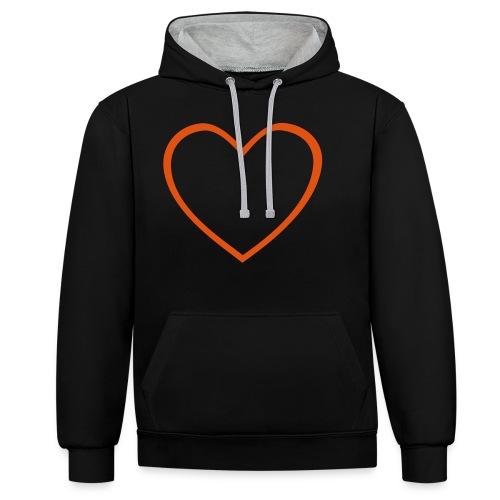 Hjärta 4 - Kontrastluvtröja