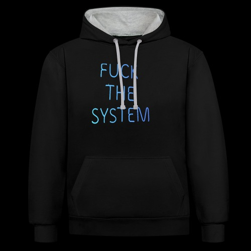 FTF Collection FOUr - Kontrast-Hoodie