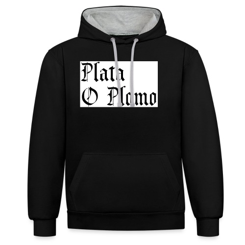 Plata o plomo - Sweat-shirt contraste