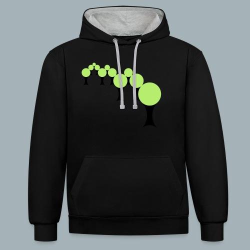 Golden Rule Premium T-shirt - Contrast hoodie