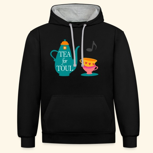 Tea for Toul - Sweat-shirt contraste