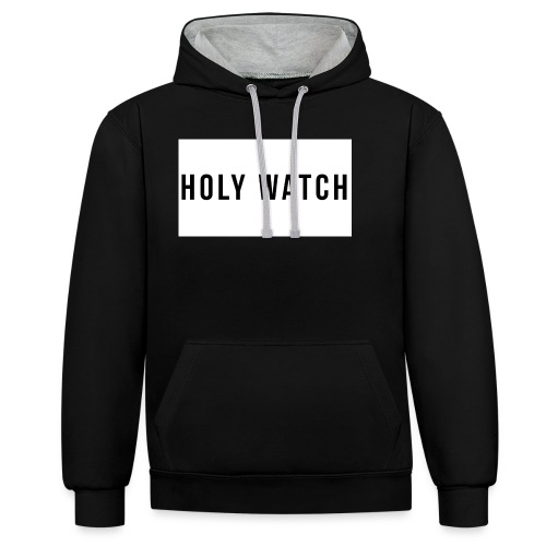 Holywatch T-Shirt - Contrast hoodie