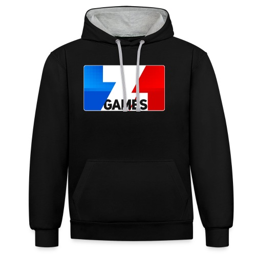 9815 2CZoominGames so MLG - Contrast Colour Hoodie