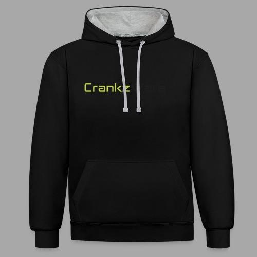 CrankzWare Tech-Font - Kontrast-Hoodie
