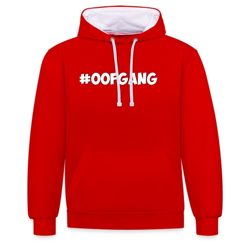 #OOFGANG MERCHANDISE - Contrast Colour Hoodie