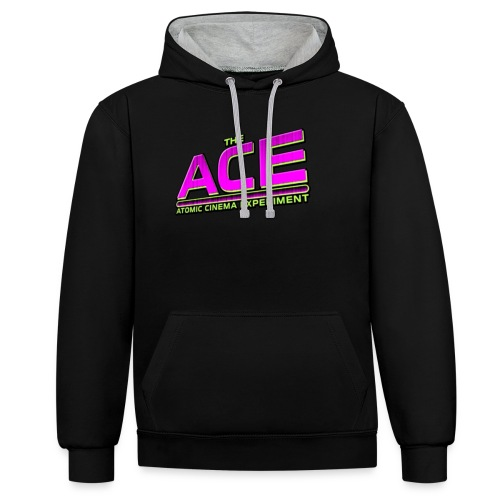 The ACE Atomic Cinema Experiment - Contrast Colour Hoodie