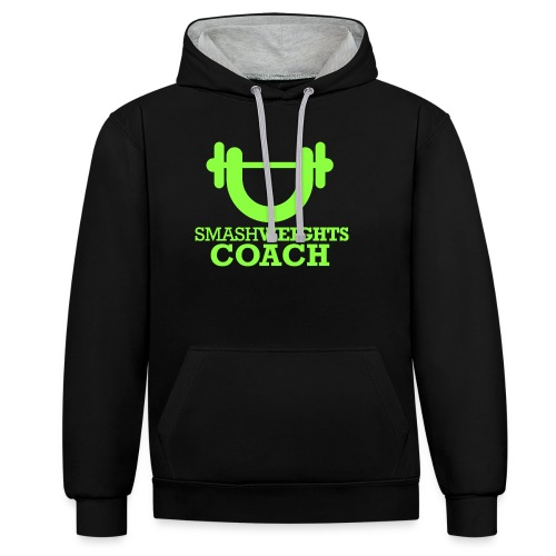 smash weights COACH - Contrast Colour Hoodie
