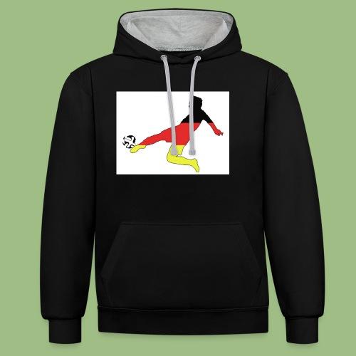 Mario Götze. Germany World Cup Winners - Kontrastluvtröja