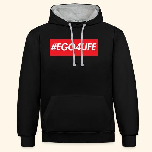 EGO4LIFE - Kontrast-hettegenser