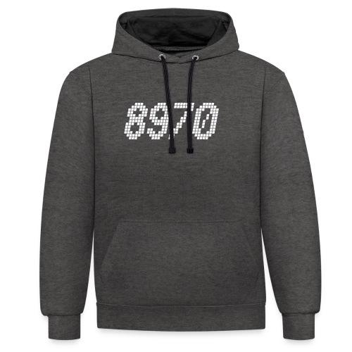 8970 Havndal - Kontrast-hættetrøje
