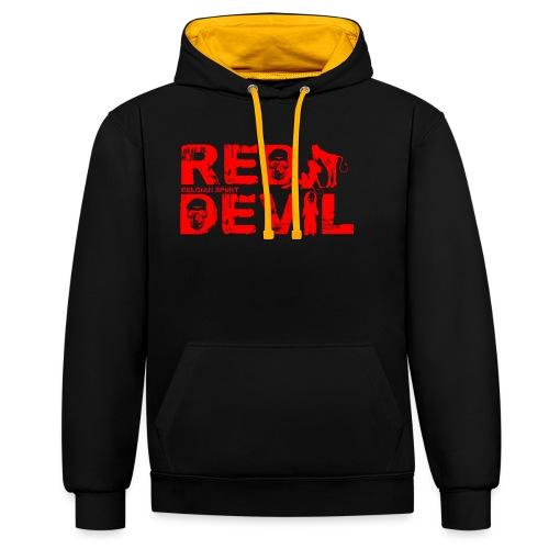 BELGIAN-RED-DEVIL - Sweat-shirt contraste
