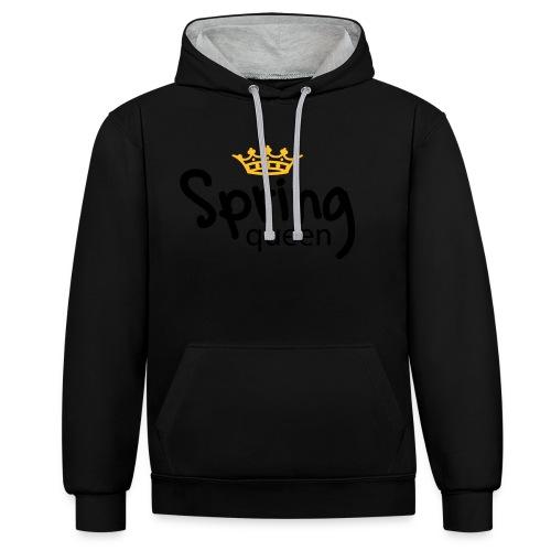 Springqueen - Kontrast-Hoodie