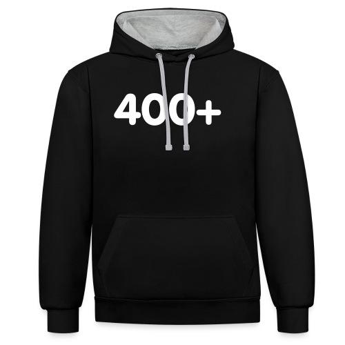 400 - Contrast hoodie