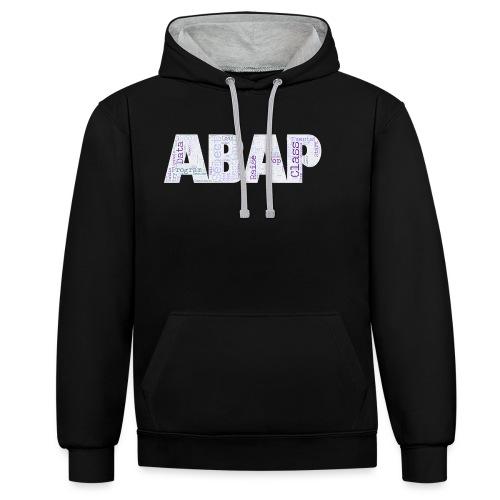 ABAP - Kontrast-Hoodie