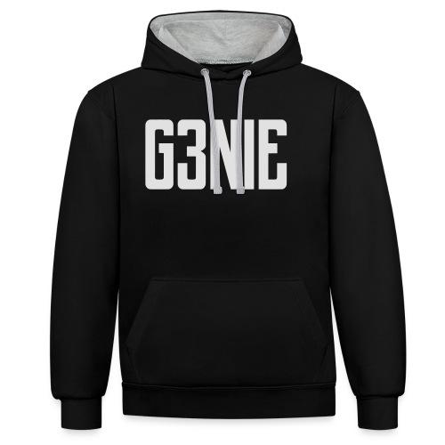 G3NIE snapback - Contrast hoodie