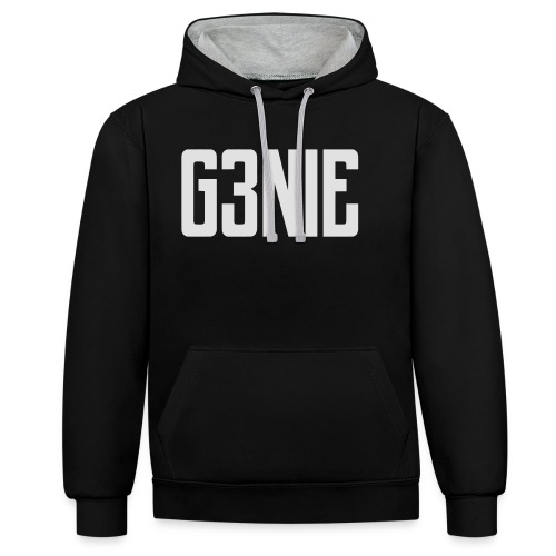 G3NIE sweater - Contrast hoodie