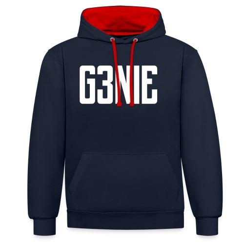 G3NIE bear - Contrast hoodie