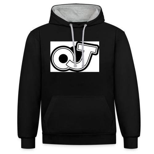 OJ_logo - Contrast hoodie