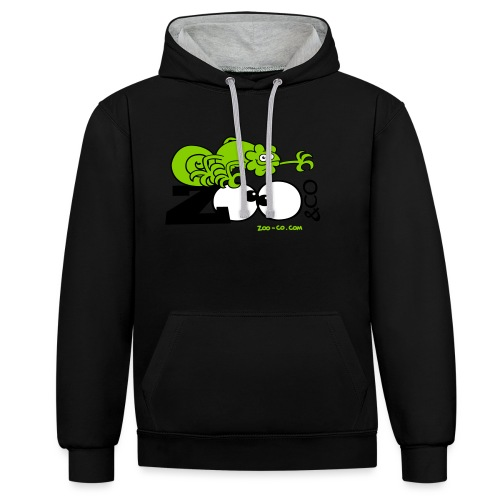 Zooco Chameleon - Contrast Colour Hoodie