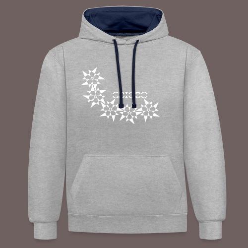 GBIGBO zjebeezjeboo - Rock - Pointy Stars - Sweat-shirt contraste