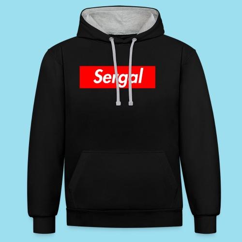 SERGAL Supmeme - Kontrast-Hoodie
