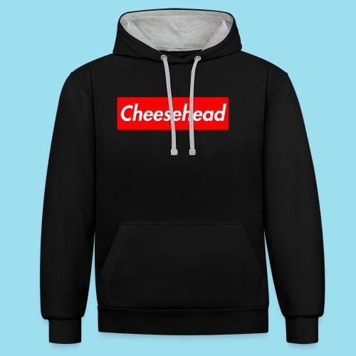 CHEESEHEAD Supmeme - Kontrast-Hoodie