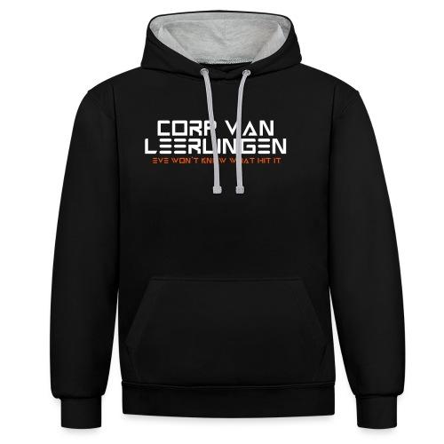 Corp van Leerlingen - Contrast hoodie