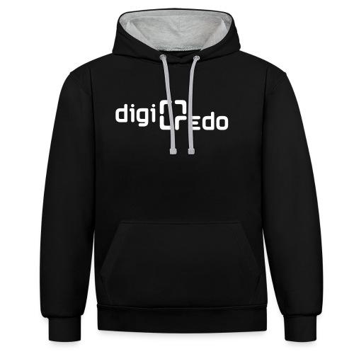 digiredo2 w - Contrast hoodie