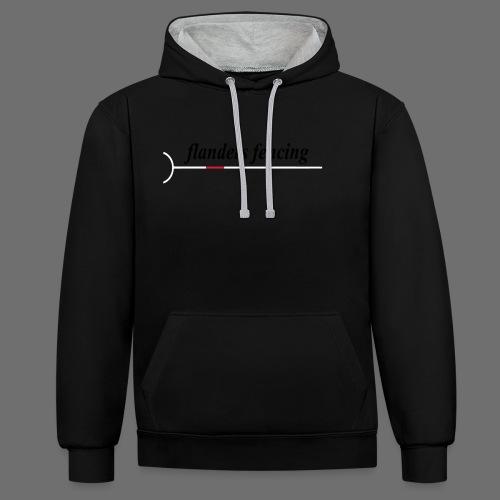 Flanders Fencing - Contrast hoodie