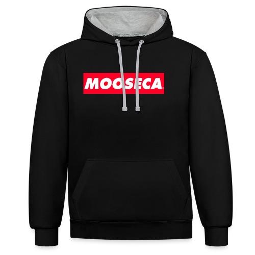MOOSECA CAP - Felpa con cappuccio bicromatica